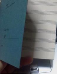 五線譜手帳
